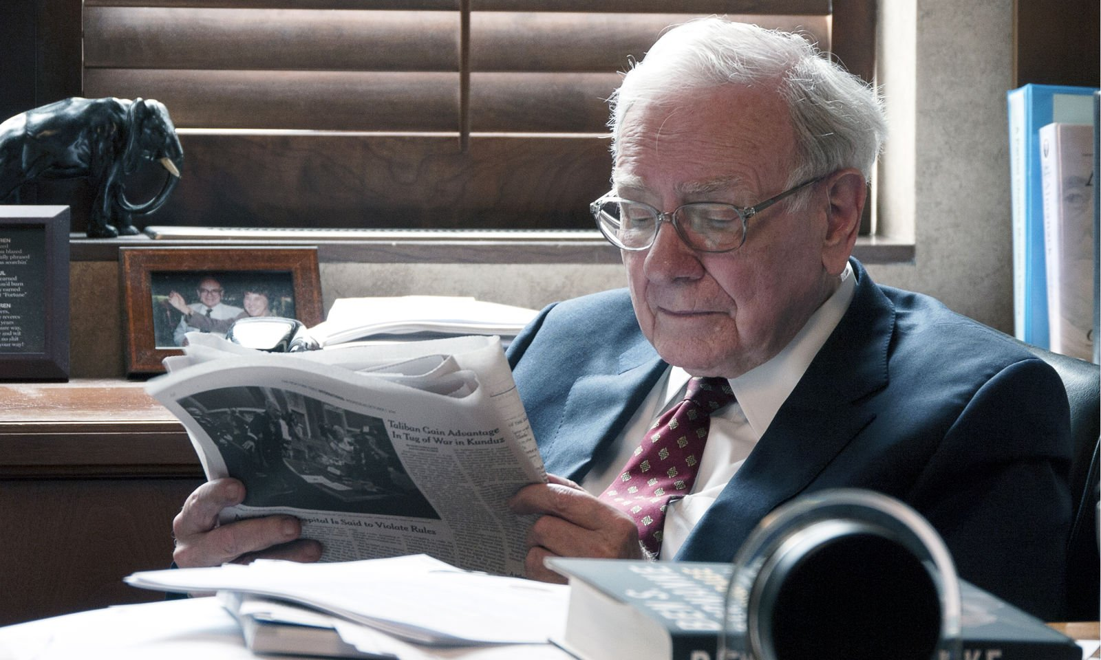 Warren Buffett sijoittaja