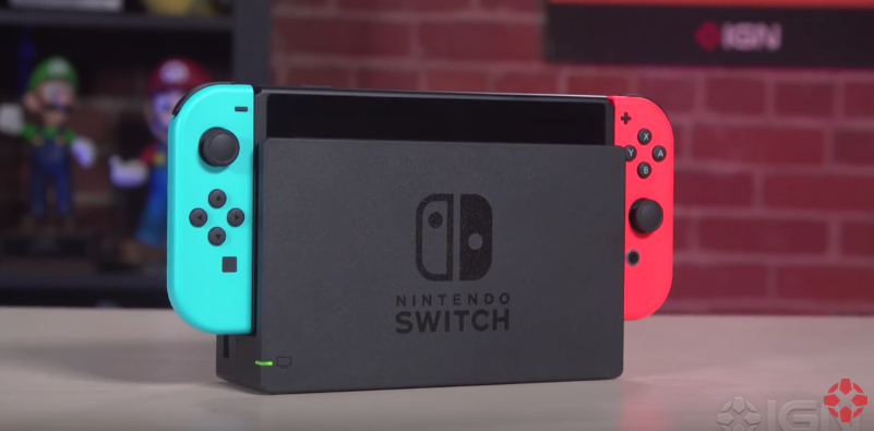 Nintendo Switch pelikonsoli