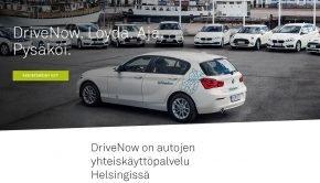 OP DriveNow palvelu