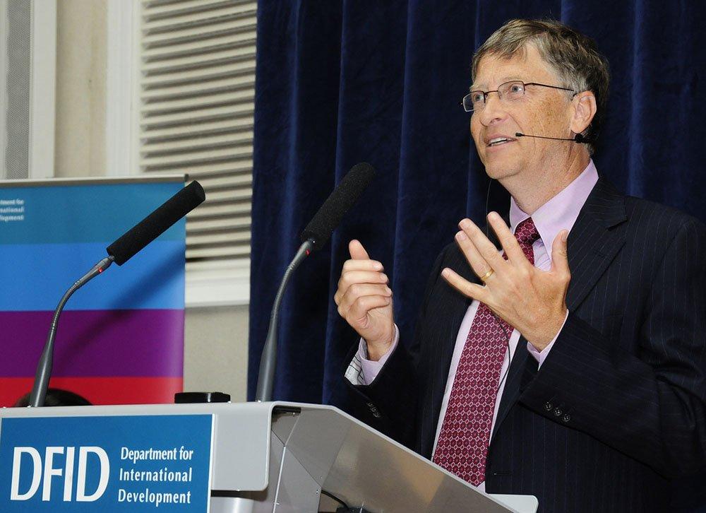 Bill Gates - maailman rikkain mies