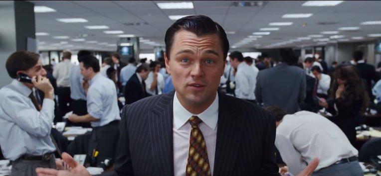 The Wolf of Wall Street arvostelu