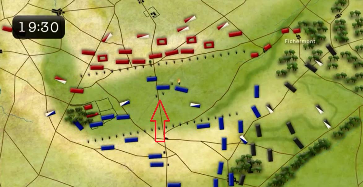 Waterloon taistelun kriittiset hetket