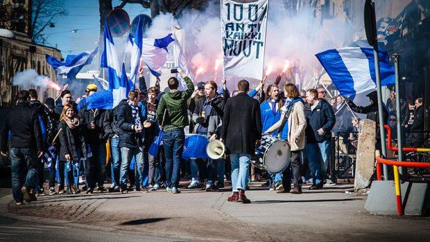 HJK Helsinki fanit