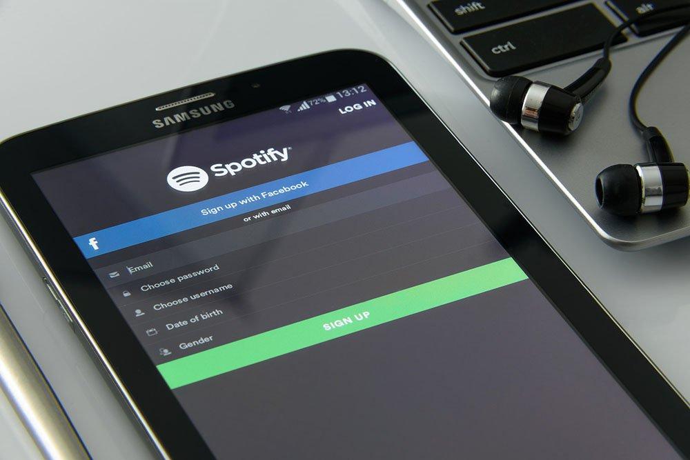 Spotifyn historia