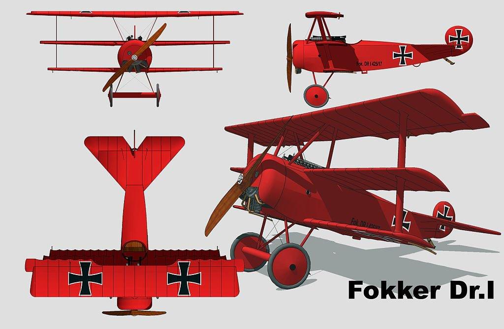 Fokker Dr. I punainen paroni