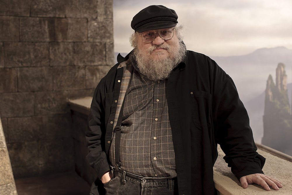 George RR Martin - Game Of Thrones - HBO Nordic Press