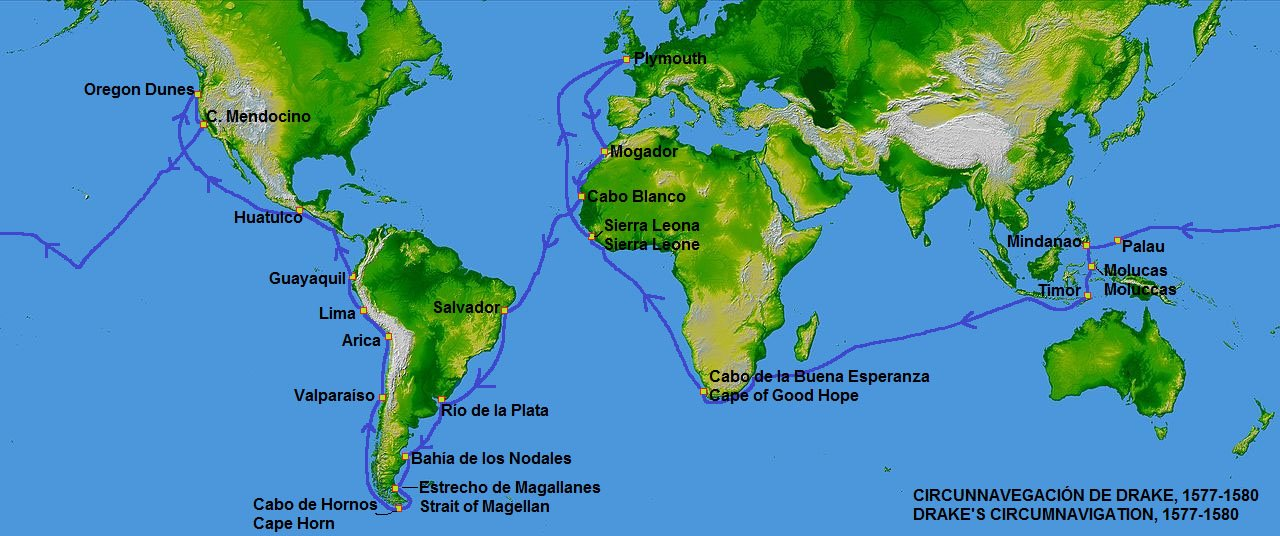 Francis Drake maailmanympärysmatka