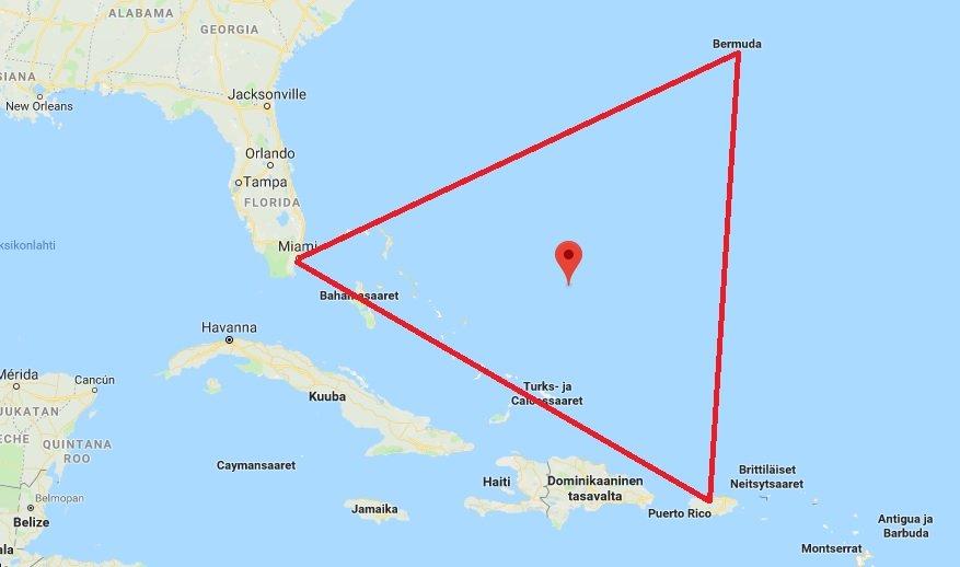 bermudan-kolmio-kartta