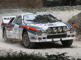 B-Ryhmä Lancia Rally
