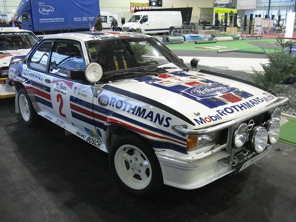 B-ryhmä Opel Ascona 400