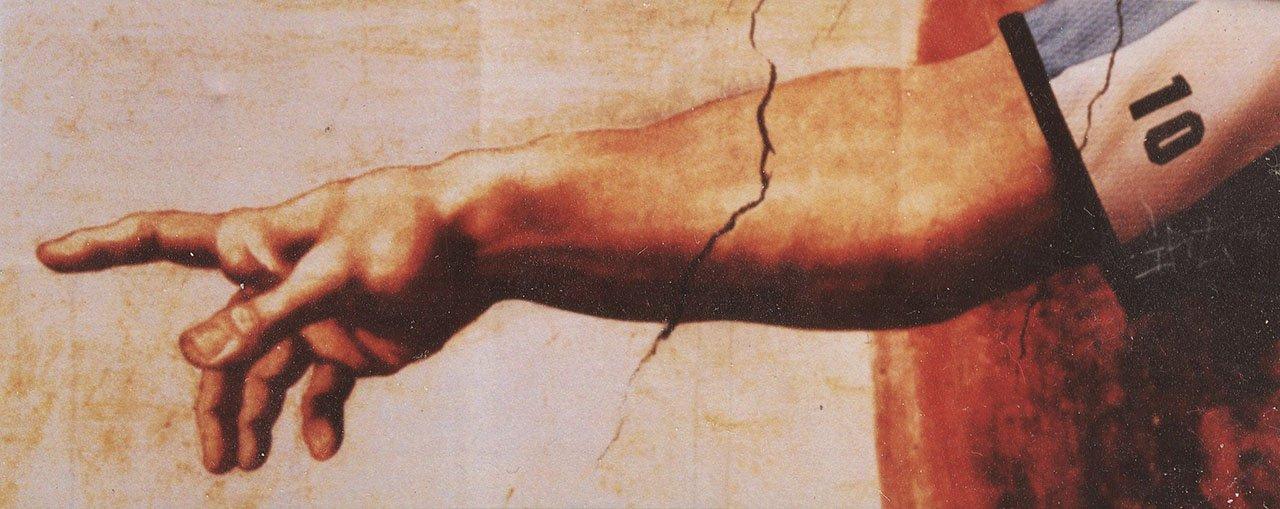 maradona jumalan käsi