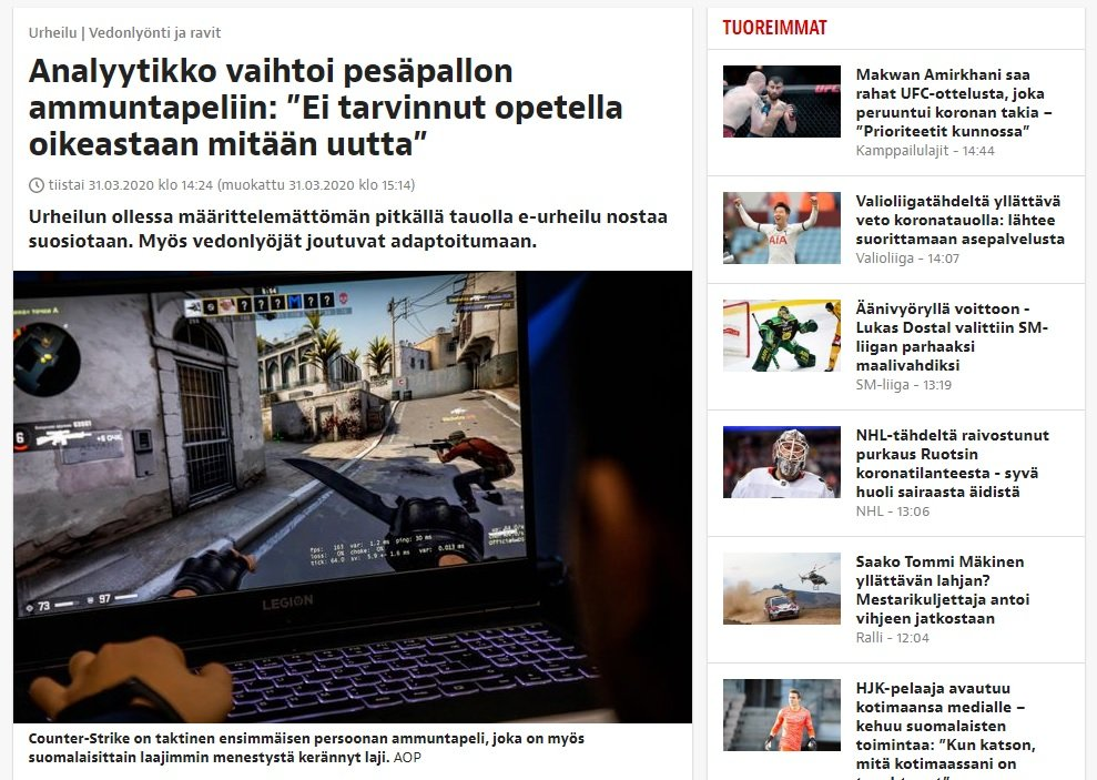 korona vedonlyönti iltalehti olli koski